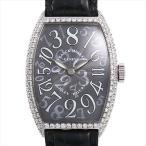 フランクミュラー トノーカーベックス クレイジーアワーズ ダイヤモンド 5850CH D OG 中古 メンズ 腕時計