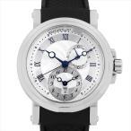 48回払いまで無金利 ブレゲ マリーン GMT 5857ST/12/5ZU 中古 メンズ 腕時計