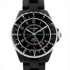 シャネル J12 GMT H3102 中古 メンズ 腕時計