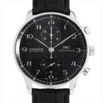 【48回払いまで無金利】IWC ポルトギーゼ クロノグラフ IW371438 中古 メンズ 腕時計