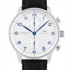 IWC ポルトギーゼ クロノグラフ IW371446 中古 メンズ 腕時計 48回払いまで無金利