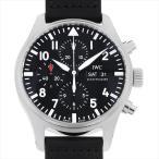 IWC パイロットウォッチ クロノグラフ IW377709 中古 メンズ 腕時計