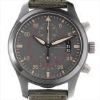 SALE IWC パイロットウォッチ クロノグラフ トップガン ミラマー IW388002 中古 メンズ 腕時計