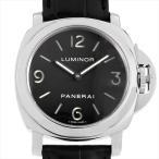 PANERAI(パネライ) ルミノールベース PAM00112 ステンレススティール/SS ブラック...
