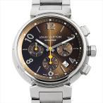 ルイヴィトン タンブール クロノグラフ Q1121 中古 メンズ 腕時計