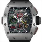 SALE 48回払いまで無金利 リシャールミル オートマチック フライバッククロノグラフ デュアルタイム RM11-02 TI 中古 メンズ 腕時計