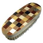 【SALE品30%OFF】靴磨き 豚毛ブラシ M.MOWBRAY モゥブレィ モウブレイ シューズブラシ【寄木細工】