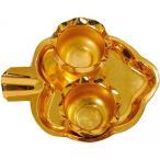 送料無料 インテリア 2 つのコンテナー小祭式ターリー - 真鍮 正規輸入品