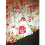 ショッピングキャスキッドソン バスリネン キャス ・ キッドソン ROSALI 100% 綿生地素材 - 白いバラ - 幅 150 cm (メートルにて販売) キャス ・ キッドソン rosali によって 正規輸入品
