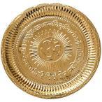 送料無料 インテリア ガヤトリマントラ - 真鍮と Om のプージャー ターリー 正規輸入品