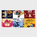 送料無料 タオル 27.5W x 11.8 L インチ カスタム綿マイクロファイバー超柔らかい手タオル カラフルなジャズ祭ミュージシャン歌手や楽器ポスター セット画像