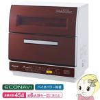 NP-TR9-T パナソニック 食器洗い乾燥機 約6人分 食器点数45点 ブラウン