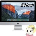APPLE iMac Retina 5Kディスプレイモデル MK482J/A [3300] 27インチ デスクトップパソコン