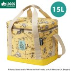 LOGOS ロゴス アウトドア ディズニー くまのプーさん POOH ソフトクーラー 15L クーラーボックス 保冷 ランチバッグ お弁当袋 バッグ 手提げ