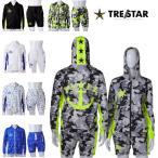 TRE☆STAR TRESTAR トレスター ラッシュガード セットアップ ジップパーカー ハーフパンツ スター 星 メンズ レディース