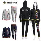 TRE☆STAR TRESTAR トレスター ワッペン スウェット セットアップ ジップパーカー ジョガーパンツ スター 星 メンズ レディース