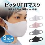 布マスク ピッタリFITマスク マスク 3枚入 洗って使える立体マスク 大人用 レギュラーサイズ