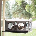 猫 ハウス キャットハウス おしゃれ 窓 K&H ケーアンドエイチ キャットハウス 窓貼りタイプ EZ MOUNT PENTHOUSE