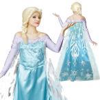 ハロウィン コスプレ ディズニー 仮装 レディース キャラクター アナと雪の女王 Adult Elsa エルサ 衣装 コスチューム ハロウィン_hw16_ld20