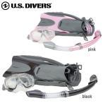 USダイバーズ シュノーケリング スノーケルとマスクとフィンとバッグの4点セット 大人  アバロン AVALON  メンズ レディース ユニセックス あすつく
