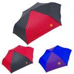 傘 メンズ 折りたたみ 55cm マンU マンチェスター ユナイテッド バルサ FCバルセロナ 雨傘 サッカー