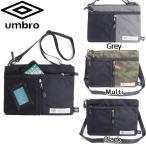 サコッシュ アンブロ ショルダーバッグ メンズ UMBRO 70195 斜めがけ 軽量 鞄 おしゃれ シンプル 郵 メール便 対応