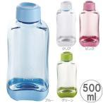 Yahoo!zakka green水筒 スポーツボトル ブロックスタイル PCアクアボトル 500ml BPAフリー スポーツドリンク作り 便利な目盛付きボトル