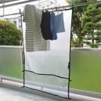 レック ベランダ便利シート Mサイズ W-482 ベランダカーテン 雨よけ 目隠しシート 洗濯物カバー 雨よけシート 陰干し 日よけ 花粉 黄砂