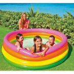 ビニールプール 大型 intex 家庭用プール プール 168x46cm 56441 子供用ビニールプール 大型 ファミリープール