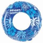 浮き輪 フロート 90cm 大人 ブルーパーム wr552 プール リング うきわ 水遊び アウトドア 海 川