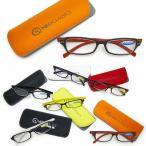 郵 メール便 送料無料 老眼鏡 おしゃれ シニアグラス メガネケース付き 度数 1.0-3.5 NEO CLASSICS GLR01 エレガント コンパクト 携帯 メンズ レディース