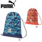 プーマ PUMA ナップサック ッズ用 小さめ ジムサック セサミストリート エルモ ランドリーバック スポーツバック PUMA 073832