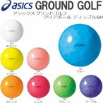 グラウンド ゴルフ 用品 グラウンドゴルフ ボール アシックス ASICS GGG325 クリアボール ディンプルSH 日本製 アウトドア