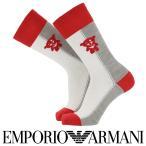 EMPORIO ARMANI エンポリオ アルマーニ日本製 カジュアル 毛混 EMOJI&マンガベア クルー丈 メンズ 男性 紳士 ソックス 靴下プレゼント 贈答 ギフト02345143