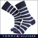 ショッピングHILFIGER TOMMY HILFIGER トミーヒルフィガー Casual クルー丈 抗菌防臭加工 メンズ ソックス 靴下  綿混 ボーダー ソックス 2552-116  ポイント10倍