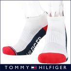 ショッピングHILFIGER TOMMY HILFIGER トミーヒルフィガー 日本製 メンズ メッシュ ソックス 靴下 吸水速乾 消臭 ロゴ入りデザイン フットカバー ショートソックス