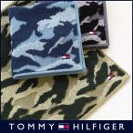 TOMMY HILFIGER トミーヒルフィガー ブランド 迷彩柄 綿100% タオル ハンカチ(ミニタオル) 2582-112 メンズ 彼氏 ポイント10倍