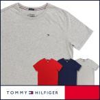 50%OFFセール TOMMY HILFIGER トミーヒルフィガー クルーネック 半袖 Tシャツ 綿100% ワンポイント フラッグ刺繍 5335-3902 メンズ 全品ポイント10倍