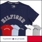50%OFFセール TOMMY HILFIGER トミーヒルフィガー クルーネック 半袖 Tシャツ 綿100% トミーロゴプリント 5335-3904 メンズ ポイント10倍