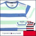 50%OFFセール TOMMY HILFIGER トミーヒルフィガー クルーネック 半袖 Tシャツ 綿100% ワンポイント フラッグ刺繍 5335-3905 メンズ ポイント10倍