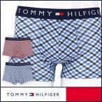 50%OFFセール TOMMY HILFIGER トミーヒルフィガー ボクサーパンツ コットンストレッチ チェック トランク 5335-4052 メンズ ポイント10倍