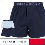 TOMMY HILFIGER トミーヒルフィガー アンダーウェア トランクス Cotton Woven Boxer Icon 5335-5489 メンズ ポイント10倍