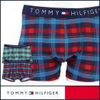TOMMY HILFIGER トミーヒルフィガー アンダーウェア ボクサーパンツ Icon trunk check アイコン トランク チェック 5336-5690 メンズ  ポイント10倍