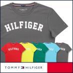 Yahoo!こだわりのレッグウェアglanageTOMMY HILFIGER トミーヒルフィガー Tシャツ クルーネック 半袖 オーガニックコットン 100% ロゴ メンズ ポイント10倍