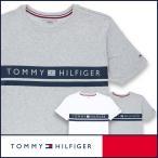TOMMY HILFIGER トミーヒルフィガー Tシャツ クルーネック ロゴ 半袖 綿 100% メンズ ポイント10倍