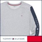 TOMMY HILFIGER トミーヒルフィガー 長袖 ロゴ スリーブロゴ Tシャツ 綿100% メンズ ポイント10倍
