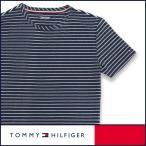 TOMMY HILFIGER トミーヒルフィガー Tシャツ 半袖 綿混 ストライプボーダー メンズ ポイント10倍