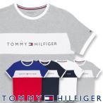 TOMMY HILFIGER 半袖 Tシャツ COTTON CN TEE SS LOGO FLAG コットン ロゴ メンズ