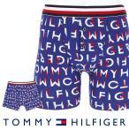 TOMMY HILFIGER トミーヒルフィガー ボクサーパンツ  モダン ストライプ コットン ボタン フライ ボクサー ブリーフ ロゴ ボクサーパンツ