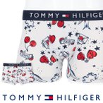 TOMMY HILFIGER トミー・ヒルフィガー ボクサーパンツ FASHON UNDERWEAR COTTON TRUNK PHOTO